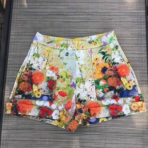 NWOT Blackmilk Redon Yellow Cuffed Shorts-Limited